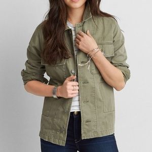 American Eagle Outfitters Military Jacket (Unisex)